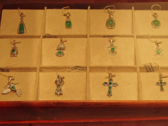 Columbia is famous for its emerald gem stones