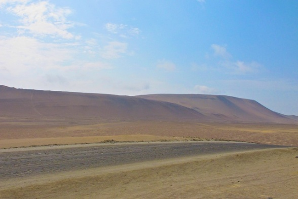 Desert in Paracas National Preserve
