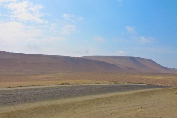 Desert in Paracas National Preserve