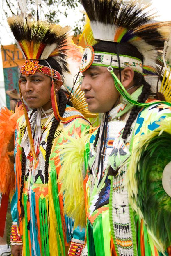 Native Americans copyright by Derek Bridges CC-BY-SA-2.0